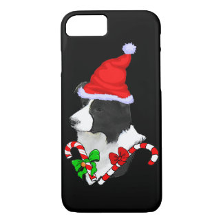 Border Collie Christmas iPhone 8/7 Case