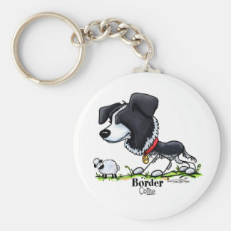 Border Collie - Color Keychain