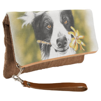 Border collie cutie clutch
