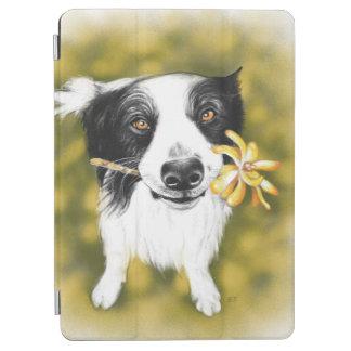 Border collie cutie iPad air cover