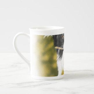 Border collie cutie tea cup