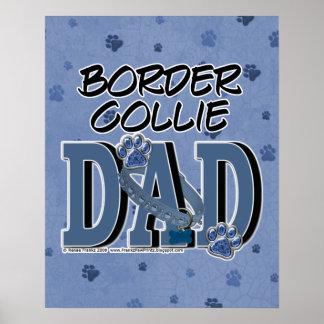 Border Collie DAD Print