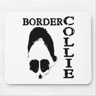 Border Collie Deep Thoughts Mouse Pad