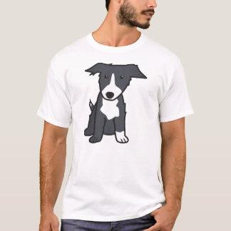 Border Collie Dog Breed Cartoon T-Shirt