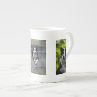 Border Collie Dog Lovers photo bone china mug