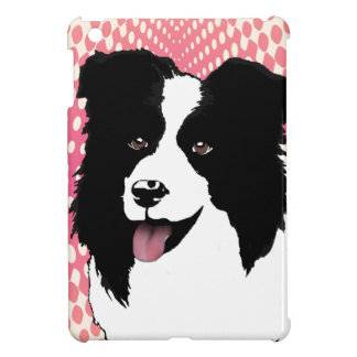 Border Collie Dog Pop Art Pet  Customize iPad Mini Cases