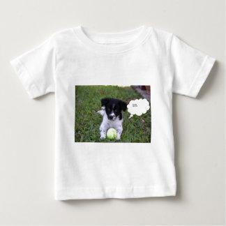 BORDER COLLIE DOG RURAL QUEENSLAND AUSTRALIA BABY T-Shirt
