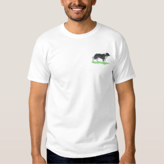 Border Collie Embroidered T-Shirt
