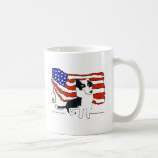 Border Collie for President Coffee Mug