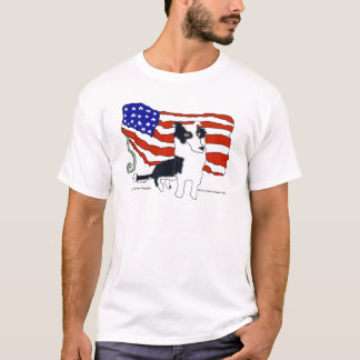 Border Collie for President T-Shirt