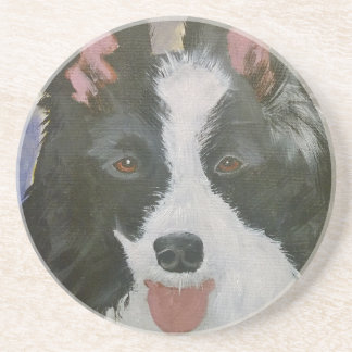 Border Collie gifts Coaster