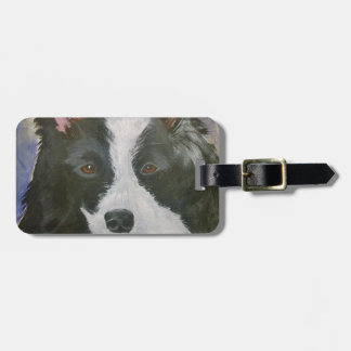 Border Collie gifts Luggage Tag