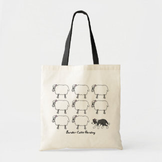 Border Collie Herding Sheep Bag