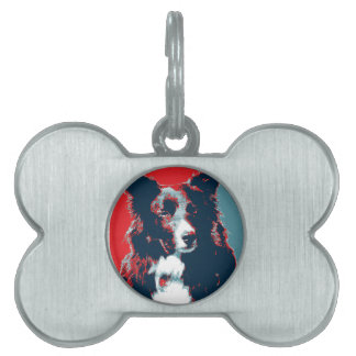 Border Collie Hope Parody Poster Pet Tags