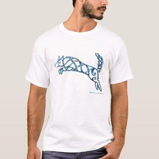 Border Collie Knot, Dark T-Shirt
