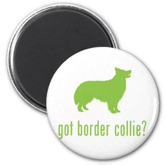 Border Collie Refrigerator Magnet