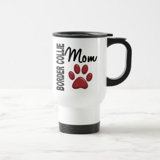 Border Collie Mom 2 Travel Mug