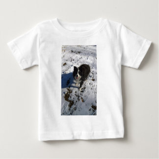 Border Collie photo on products Baby T-Shirt
