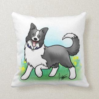 Border Collie Pillow