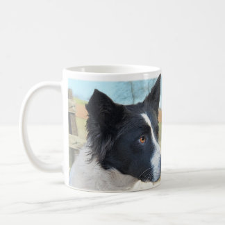 Border Collie Ranch Dog Coffee Mug