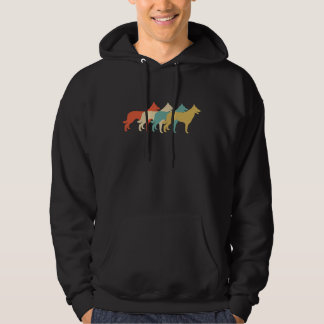 Border Collie Retro Pop Art Hoodie