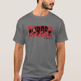 Border Collie silhouette T-Shirt