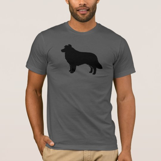 Border Collie Silhouette T-Shirt