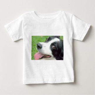 Border Collie Smile Baby T-Shirt