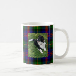 Border Collie Tartan Mug