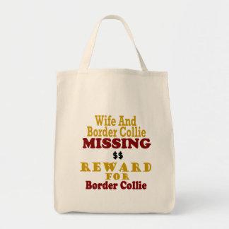 Border Collie & Wife Missing Reward For Border Col