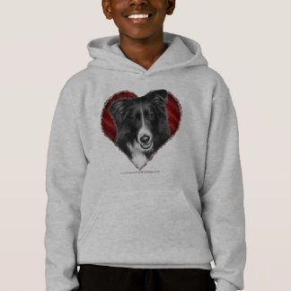 Border Collie with Heart