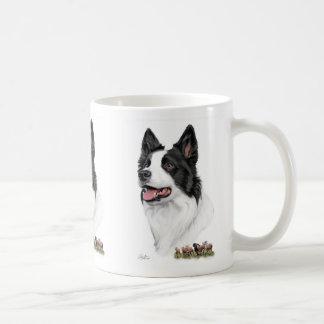 Border Collie with sheep Coffee Mug