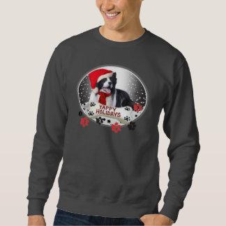 Border Collie Yappy Holidays Sweatshirt