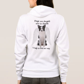 Border Collies Are Angels Hoodie