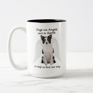 Border Collies Are Angels Mug