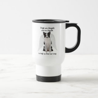 Border Collies Are Angels Travel Mug