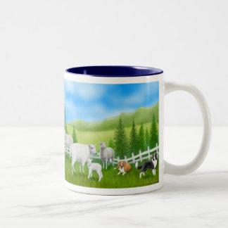 Border Collies & Sheep Mug
