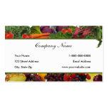 Border Fruit - Vegetable Business Cards