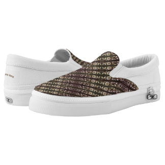 Border mix Slip-On sneakers