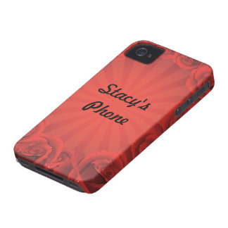 Border of Roses iphone case iPhone 4 Covers