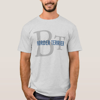 Border Terrier Breed Monogram T-Shirt