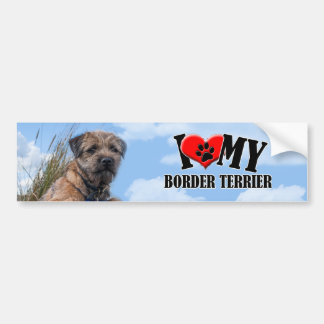 Border Terrier Bumper Sticker