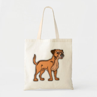 Border Terrier Dog Budget Tote