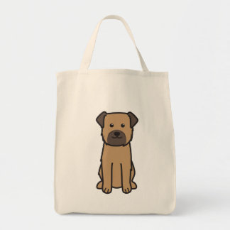 Border Terrier Dog Cartoon