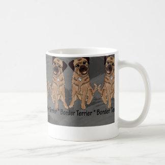 Border Terrier Fun, Pet Dog Fan Mug