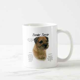 Border Terrier History Design Coffee Mug