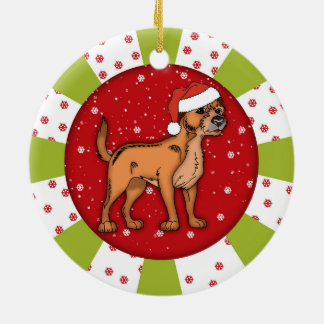 Border Terrier, Keepsake Christmas Ornament