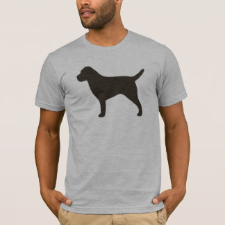 Border Terrier Silhouette T-Shirt