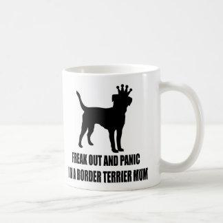 Border Terrier White 325 ml  Classic White Mug
