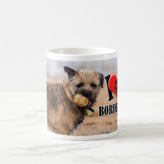 Border Terrier With Ball Mug
